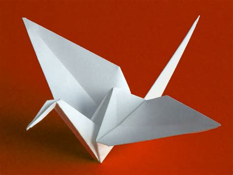 The Crane Origami - cohen and the origami envelopes trend