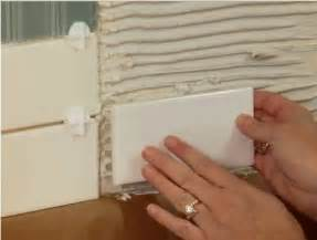 How To Tile A Kitchen Wall Backsplash by Installing Kitchen Backsplash Tiles