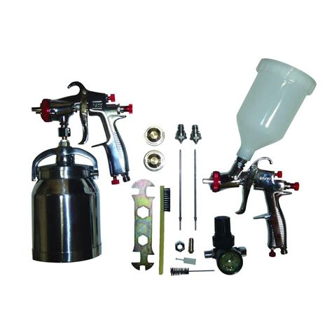 sprayit lvlp spray gun kit sprayit sp 33310k the home depot