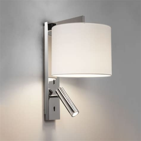 Brushed Chrome Wall Lights Polished Chrome Spotlight Wall Light Imperial Lighting