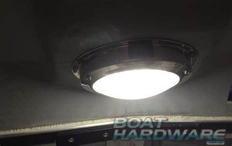 dome light 12v led stainless steel cabin boat marine