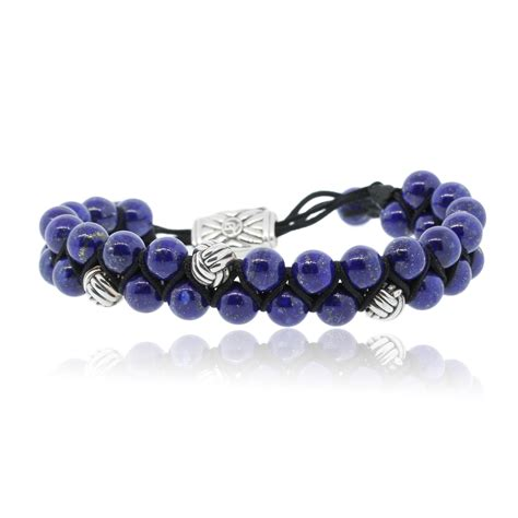 david yurman spiritual bead bracelet david yurman spiritual two row with lapis lazuli