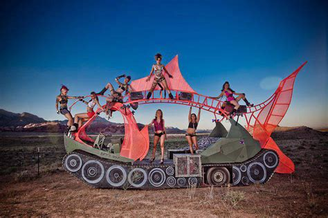 Burning Man Art Cars are Big Business for one New York