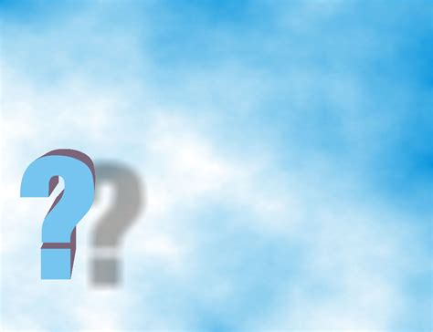 free blue question backgrounds for powerpoint border and