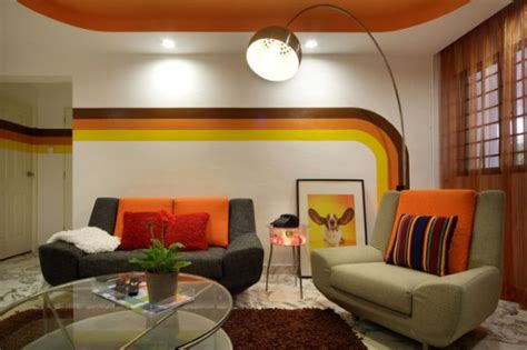 5 ways to help create a 70 s inspired living room