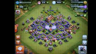 Clash of clans th7 farming defense new and old youtube