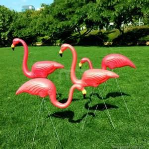 pink flamingos garden ornaments set of 2 buy pink