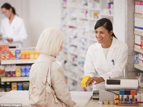 Target Pharmacy Technician by Half Of 65s Are Taking At Least Five Drugs A Day Daily Mail