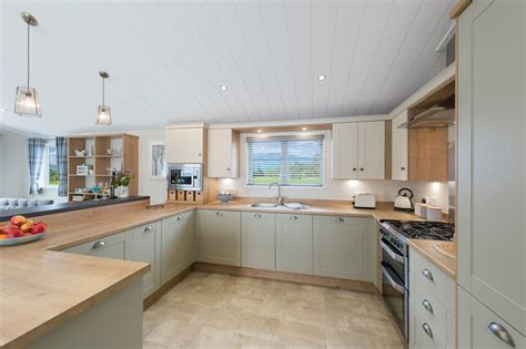 The Portland Kitchen by Willerby Portland 40 X20 Lincolnshire Lodges