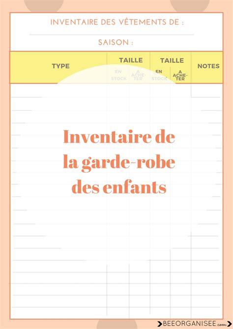 Garde Robe Enfant by G 233 Rer La Garde Robe Des Enfants