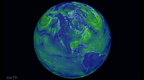 earth wind map earth wind map gt gt scuttlebutt sailing news