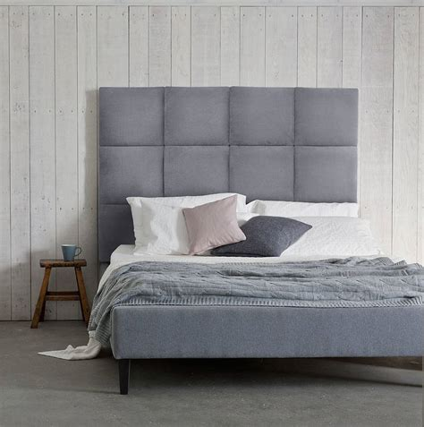 beatrice panelled headboard upholstered bed by your
