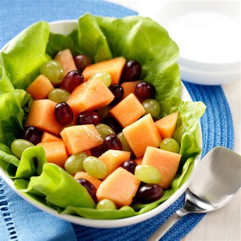 melon grape salad recipe taste of home