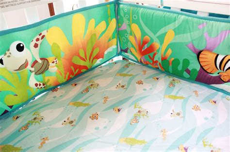 Underwater Crib Bedding with 8 Baby Bedding Set Underwater World Nursery Quilt Bumper Sheet Crib Skirt Ebay
