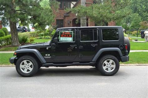 2008 4 Door Jeep Wrangler Buy Used 2008 Black Jeep Wrangler 43 000 4 Door W