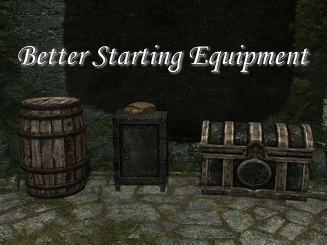 better equipment better starting equipment ダンジョン バニラ skyrim mod データベース
