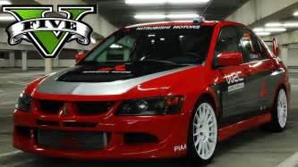 Mitsubishi Lancer Evolution Rally Mitsubishi Lancer Evo 8 Wrc Rally Livery Gta5 Mods