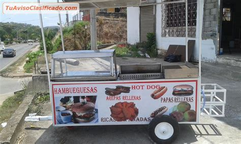 carrito de hot dog puerto rico carrito de hot dog hamburguesas comida r 225 pida fritura con