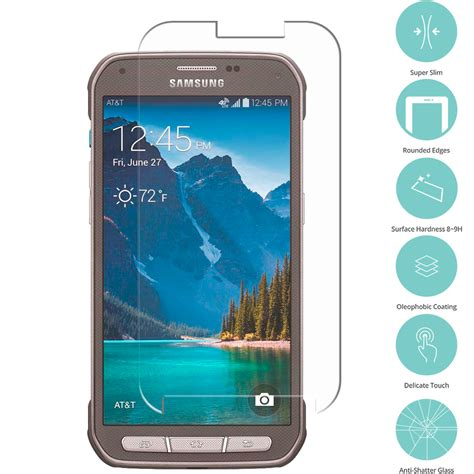 best screen protector for galaxy s5 4 real premium tempered glass screen protector for