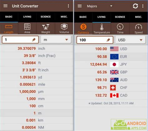 android converter measurement converter app android exchange rate lira