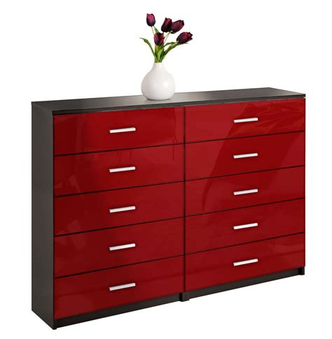 Large Dresser by Large Dresser 10 Drawer Dresser Contempo Space