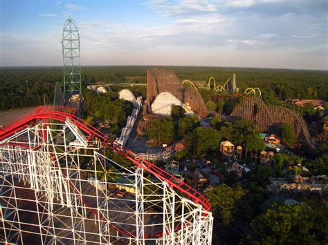 theme park united states six flags great adventure theme park in united states