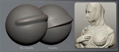 Zbrush Gravity Tutorial | pixologic zbrush features