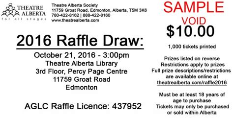 printing raffle tickets edmonton fundraiser alberta raffle tickets on sale now