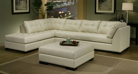 Omnia Leather Newport Sectional