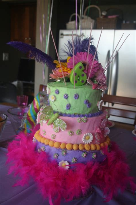 Fancy Birthday Cakes by Fancy Nancy Birthday Cake