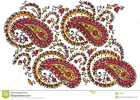 traditional designs indian traditional textile design stock illustration image 278907