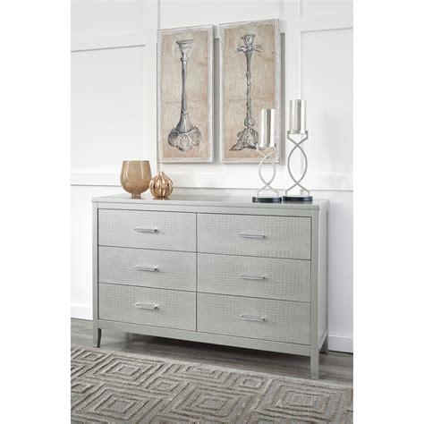 ashley furniture dresser drawer handles signature design by ashley olivet glam dresser with faux