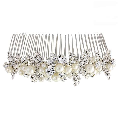veil combs for brides 187 bridal accessories