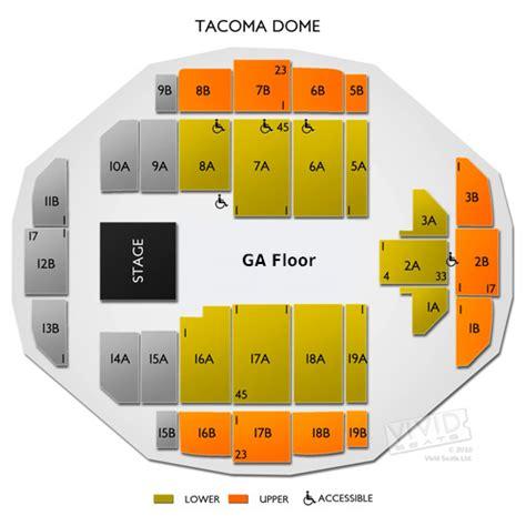 tacoma dome concert seating view tacoma dome tickets tacoma dome information tacoma