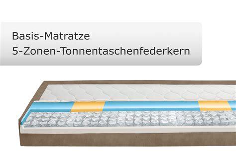 Matratze Ohne Zonen by Boxspringbett Ohne Kopfteil In 140x200 Cm Zamora