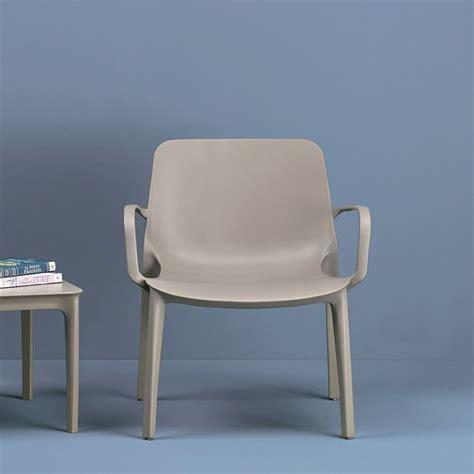 farbe taubengrau ginevra lounge 2351 lounge sessel aus technopolymer in