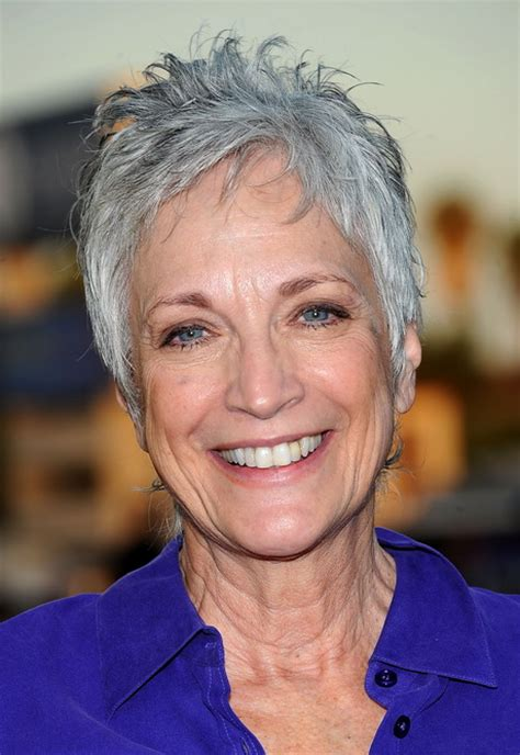 short hairstyles for seniors with grey hair short hairstyles for older women with gray hair