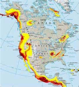 america fault lines map american earthquake fault lines map located in