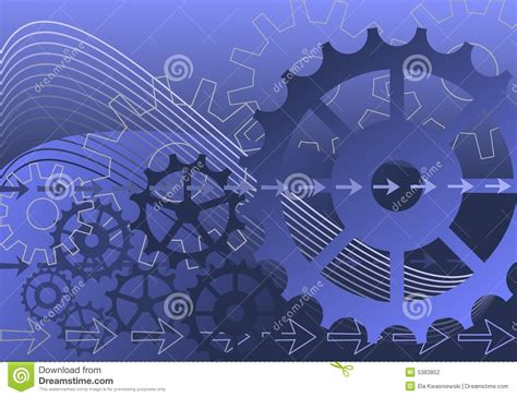 mechanical background stock photography image 5383852