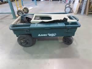 lot 1229 ames planters wagon 25 x apx 100 plast