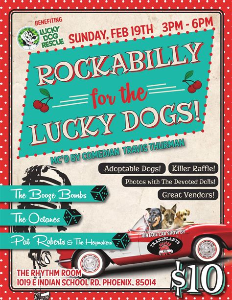 lucky rescue az lucky rescue rockabilly for the lucky dogs generation wags