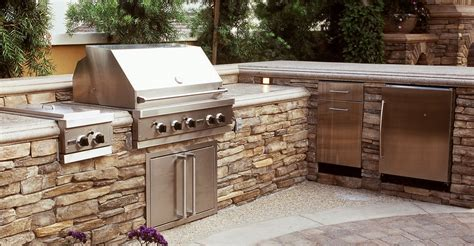 exterior kitchen outdoor concrete countertops design ideas and pictures