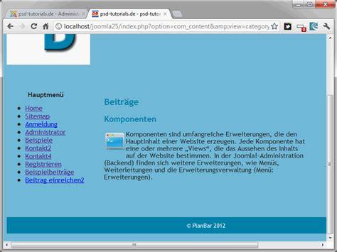joomla template zugewiesen joomla 2 5 teil 33 eigene templates entwickeln 4