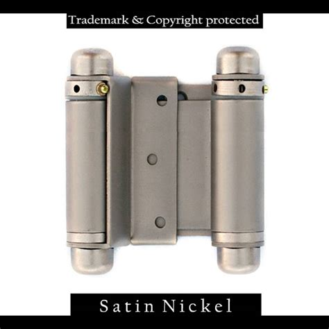 swinging hinge double swinging cafe door hinges 3 quot nickel swinging