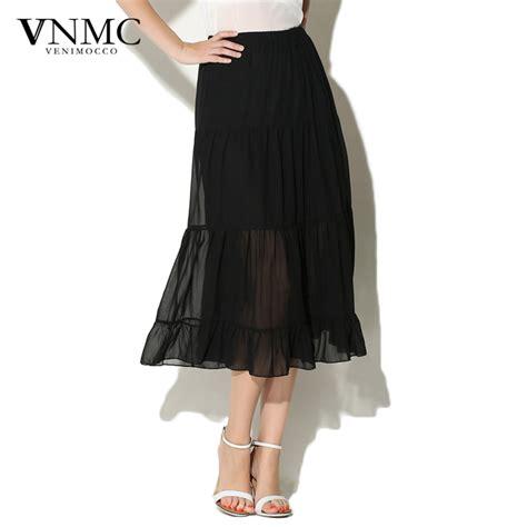 aliexpress buy pleated midi skirt 2015 sheer black