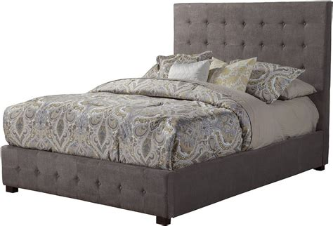 tufted platform bed queen alma charcoal tufted queen platform bed from alpine