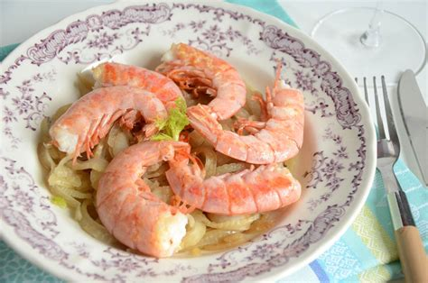 cuisiner les crevettes cuisiner des crevettes surgelees spaghettis aux