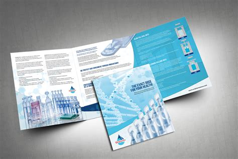 large 6 panel brochure brochure design company