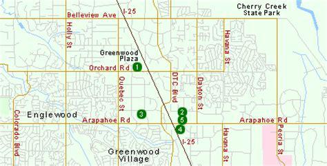 map of greenwood colorado hotels in greenwood denver co near denver tech