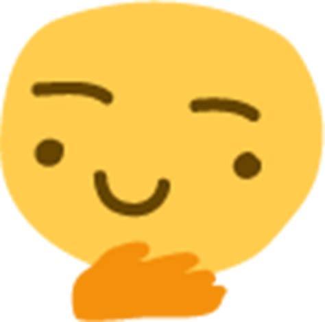emoji thinking quot thinking emoji 2 quot stickers by paulmomotte redbubble